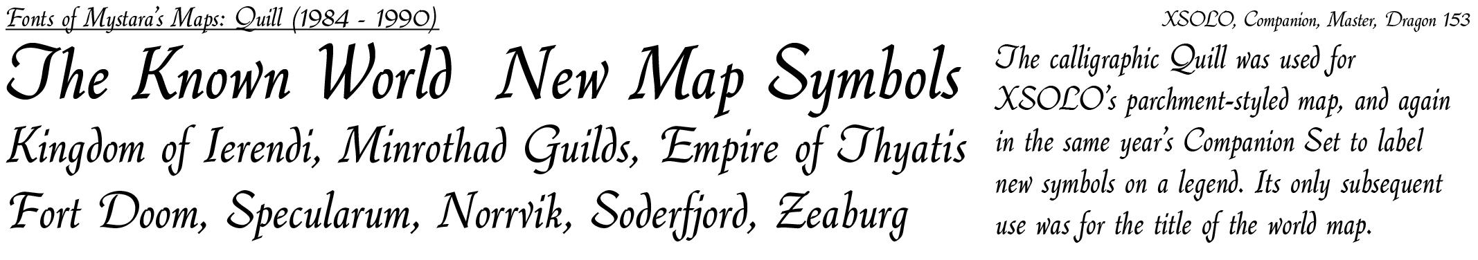 Mystara 1985 Atlas Of Mystara